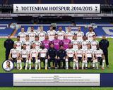 Tottenham Team 14/15 Kunstdrucke