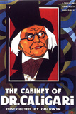 The Cabinet of Dr Caligari Movie Werner Krauss Conrad Veidt Poster Print Pôsters