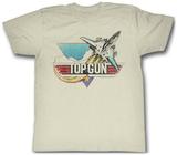 Top Gun - Fade T Shirts