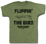 Top Gun - Da Bird Shirt