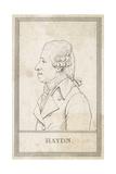 Joseph Haydn, French Giclee Print