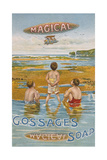 Advert, Gossage Soap 1900 Giclee Print