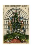Christmas Tree 1851 Reproduction procédé giclée