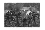 Ned Kelly- Fight at Glenrowan Giclee Print