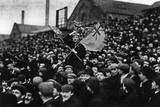 Football: the Cup Tie Crowd at Derby, 1903 Fotografisk trykk