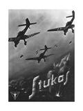 The Stuka Advertised Giclée-vedos