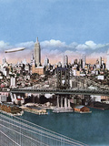 New York, Manhattan 1935 Photographic Print