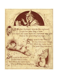 Old Mother Hubbard: Went to the Cupboard Giclée-Druck