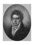 Beethoven, Century Mag Giclee Print