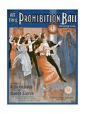 Prohibition Ball 1918 Giclee Print