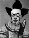 Scary Clown Photographic Print