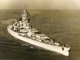 Warship 'Dunkerque' Photographic Print