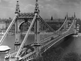 Old Erzsabet Bridge Photographic Print