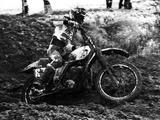 Motocross Scrambling Impressão fotográfica