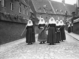 Belgian Nuns Fotografisk tryk