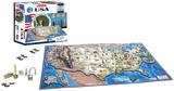 USA 4D Puzzle Puzzle