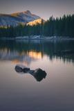 Peaceful Reflection at Tenaya Lake Yosemite National Park Photographic Print by Vincent James
