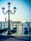 Venice Gondolas Reproduction photographique par Mr Doomits