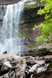 Catskills NY Waterfall Photo Print Poster Pósters