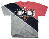 Youth: NFL: San Francisco Giants - 2014 World Series Champions Color Block Tシャツ