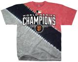 MLB: San Francisco Giants - 2014 World Series Champions Color Block Shirts