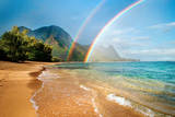 Hawaii Rainbow Fotografisk trykk av M Swiet Productions