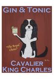 Cavalier Gin & Tonic Reproduction pour collectionneur par Ken Bailey