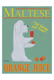 Maltese Orange Juice Édition limitée par Ken Bailey