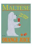 Maltese Orange Juice Limitierte Auflage von Ken Bailey