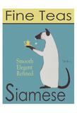 Siamese Fine Teas Reproduction pour collectionneur par Ken Bailey