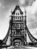 Tower Bridge from Side Photographic Print by Fred Musto