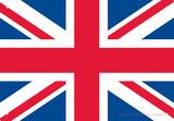 UK Flag Tin Sign Blikskilt