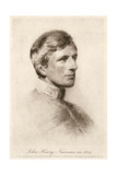 JH Newman, Richmond 1844 Giclee Print by George Richmond