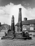 Sandbach Crosses Photographic Print by Fred Musto