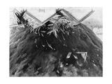 Tornado in Kirksville, Missouri, 1889 Giclée-Druck von George Varian