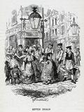 Seven Dials, Slums, 1836 Lámina fotográfica por George Cruikshank