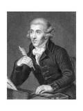 Joseph Haydn, Guttenbrunn Giclee Print by I Jenkins