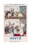 Heath Robinson Hovis Advertisement Giclee Print by Heath Robinson
