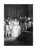 Victoria Weds Albert Giclee Print by George Hayter