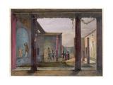 Pompeii, House of Actaeon Giclee Print by Gia Gigante