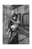 Abused Child Rescued Giclee Print by Gunning King