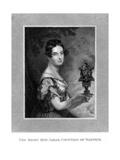 Sarah Countess Warwick Giclee Print by George Hayter