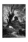 The Wolf and the Lamb Giclee Print by Gustave Moreau