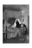 Death of Washington Gicléedruk van Howard Pyle
