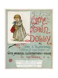 Title Page of 'My Own Dolly' Reproduction procédé giclée par Ida Waugh