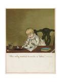 She Only Wants to Write a Letter! Reproduction procédé giclée par Ida Waugh