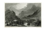 French Army Retreat from Arroyo de Molinos, 1811 Giclee Print by J.t. Willmore
