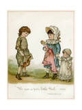 Wealthy and Poor Giclee Print by Ida Waugh