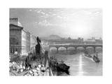 Paris, France - General View from West Paris Giclee Print by J.t. Willmore