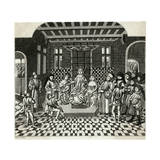 Charles, Lesage, Froissart Giclee Print by J Harris